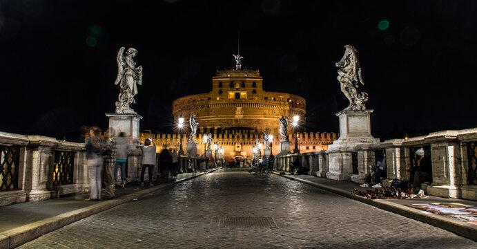 St Angelo Castle in Rome