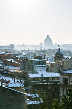 Rome Snow 1