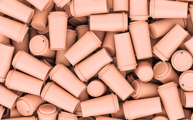 Paper cup pattern