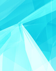 Abstract geometric background with perspective effect.