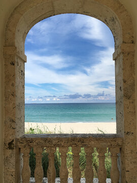 View of the Atlantic
