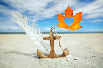 Wall Mural - Herbst am Meer