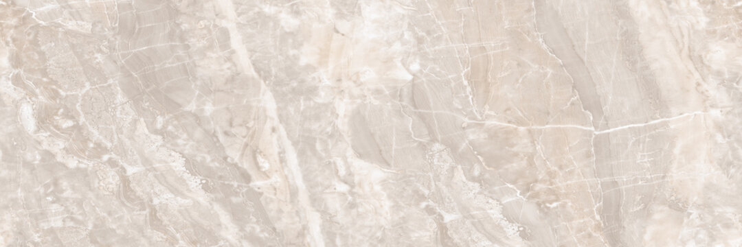 Polished light pink marble. Real natural marble stone texture and surface background.