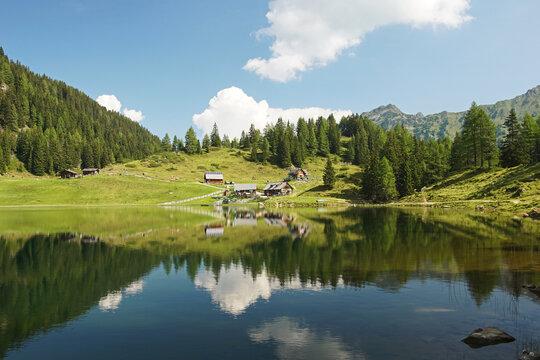 Duisitzkarsee bei Schladming in der Steiermark