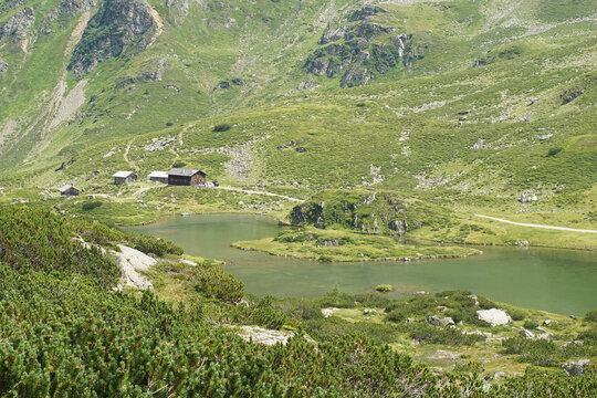 Berglandschaft bei den Giglachseen nahe Schladming
