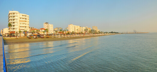 Larnaca - a city on the southern coast of Cyprus