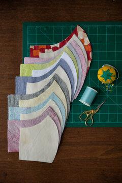 Cloth mask sewing setup 2