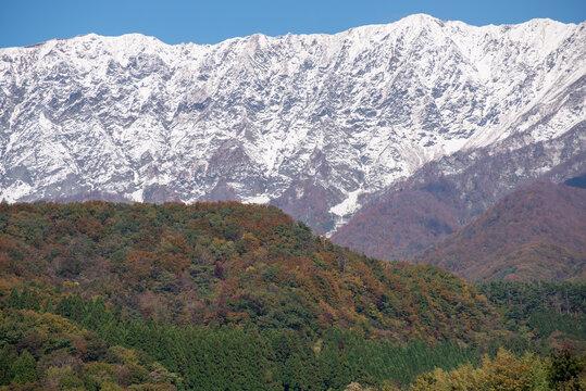 鳥取県 大山の紅葉