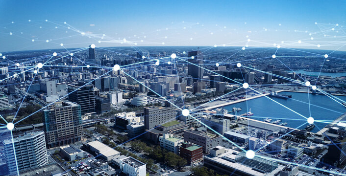 都市とネットワーク スマートシティー