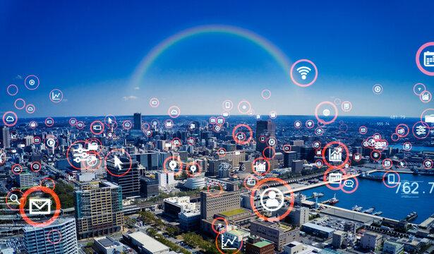都市とテクノロジー スマートシティー