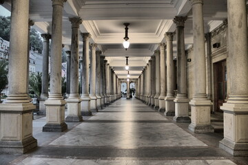 Colonnade in Karlovy Vary, Czech Republic
