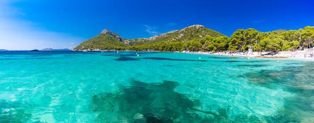 Platja de Formentor - beautiful beach at cap formentor, Mallorca, Spain