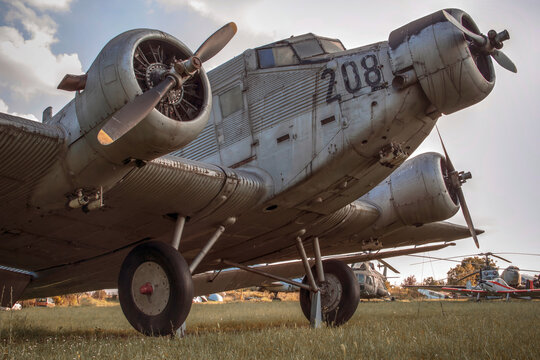 Junkers Ju 52 German tri-motor transport aircraft, manufactured from 1931 to 1952