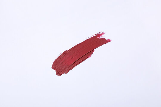 赤いリップのテクスチャ