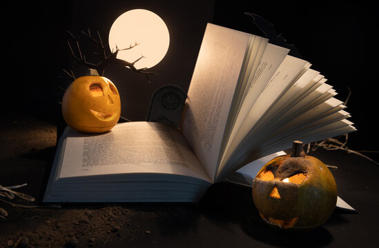 A spooky book story