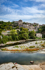 Balazuc in Southern France, Ardeche district