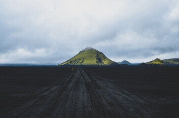 Road to Maelifell - Iceland