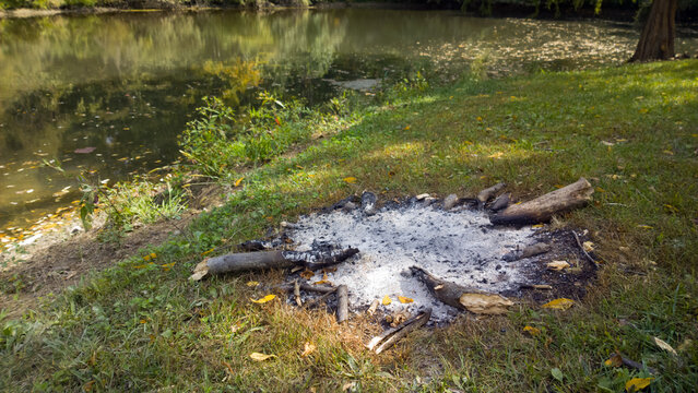 Fire Pit on the Pond