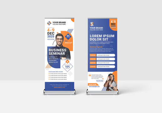 Roll Up Banner for Corporate Event Business Conference Seminar