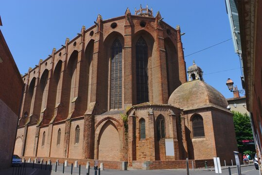 Toulouse, Jacobins convent, in red bricks