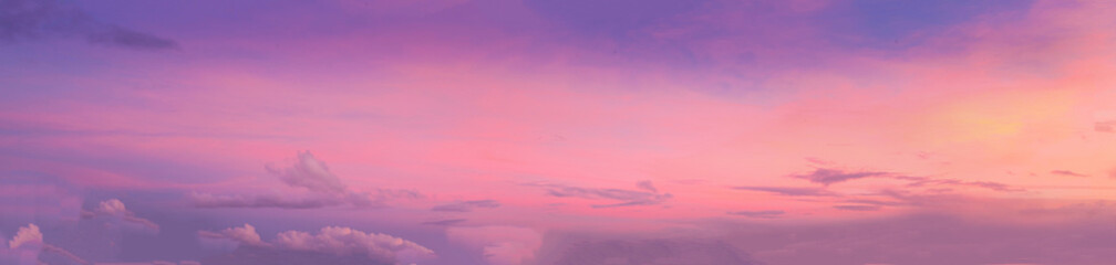 Pastel Sunset with amazing colors
