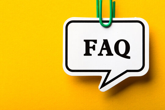 FAQ Business Concept Frequently Asked Questions