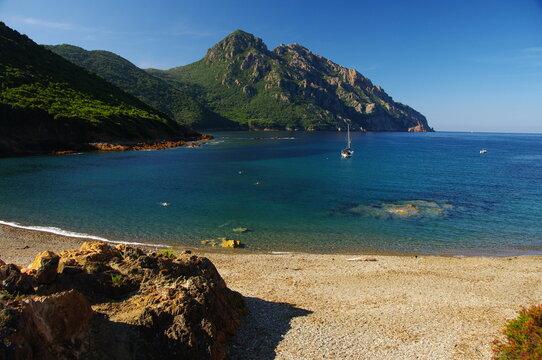 Cala di Tuara, Girolata en Corse