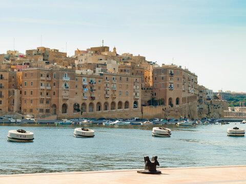 View of Senglea, Malta