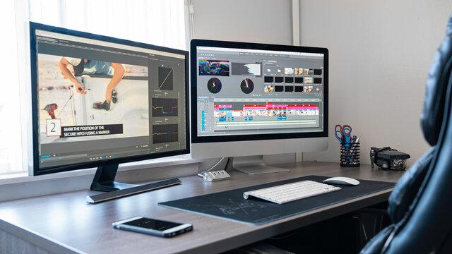Desktop Computer Editing