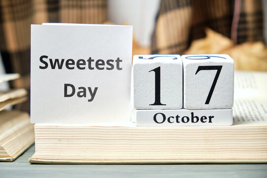 Sweetest Day of autumn month calendar october