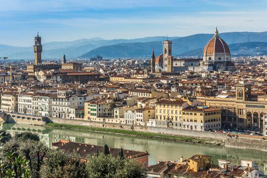 1876  Florenz am Arno