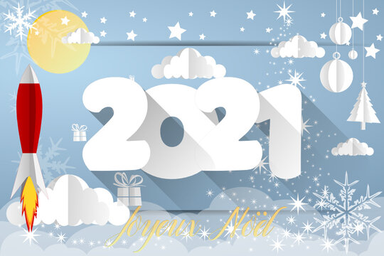 2021 - merry christmas - happy new year 2021