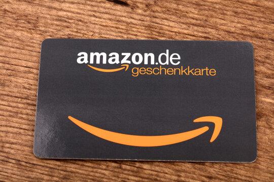 AMAZON Voucher Card