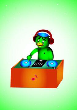 DJ皿回し