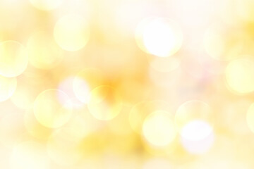 Wall Mural - Yellow background blur,holiday new glow wallpaper