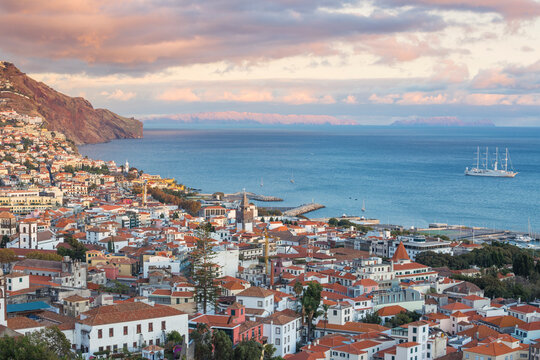 View of city, Funchal, Madeira, Portugal