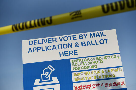 Gov. Greg Abbott limits Texas counties to one mail ballot drop-off site in Houston