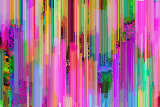 Vibrant, digital pixel glitch background,texture,mosaic,collage