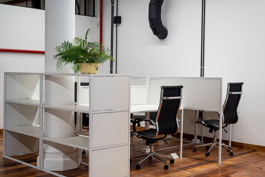 Modern office interior coworking space