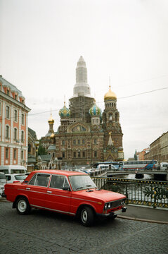 The streets of St. Petersburg