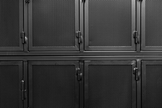 Black lockers