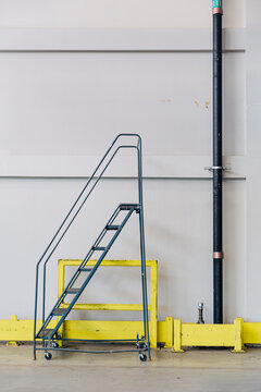 Staircase in empty Industrial Facility