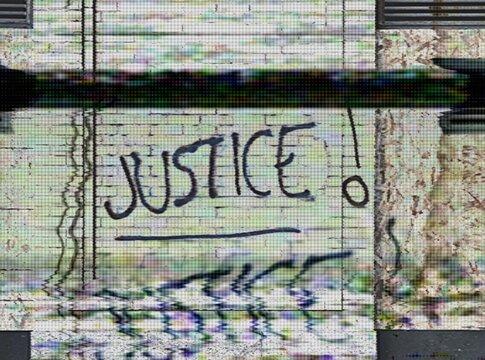 Dystopian Protest Graffiti