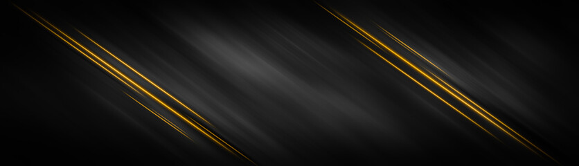 Background black gold luxury abstract light effect