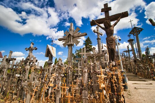 Litauen - Berg der Kreuze