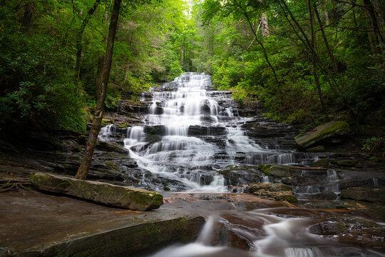 Minnehaha Falls in Rabun County, Georgia