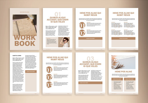 Workbook Design for Coaches Layout