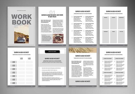 Course Workbook Layout