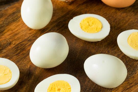 Organic Cage Free Hard Boiled Eggs
