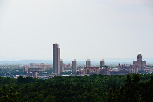 Skyline of Albany, New York